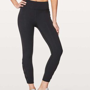 "Lululemon Tied To It 7/8 Tight 25"" Black sz6"